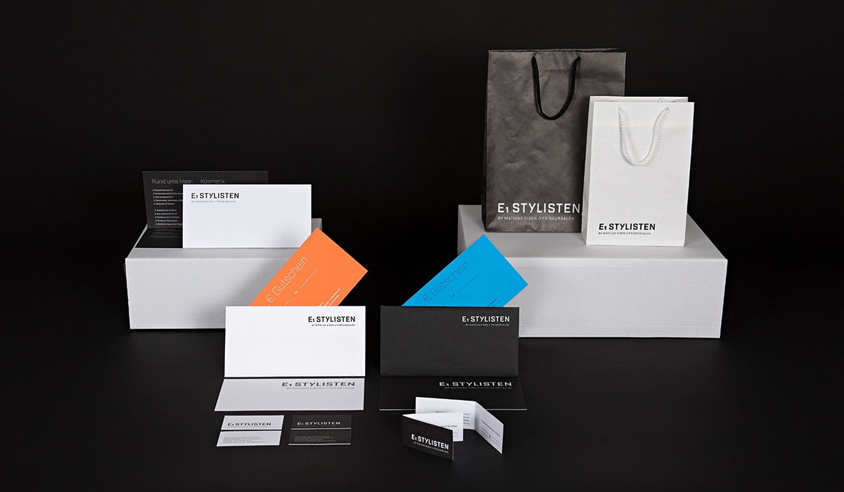 Corporate Design/ Konzeptarbeit / Brand Design / Stylisten Hermeskeil/ KERSTIN MICHELS – DESIGN/ Designagentur/ Werbeagentur/Grafikdesign/ Kommunikationsdesign/ Hochwald/ Trier/ Rheinland-Pfalz/ Werbung/ Design